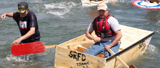 Bodega Bay's Fishermans Festival homemade boat race