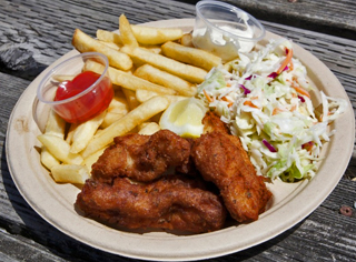 Bodega Bay's Fishermans Festival Fish and Chips