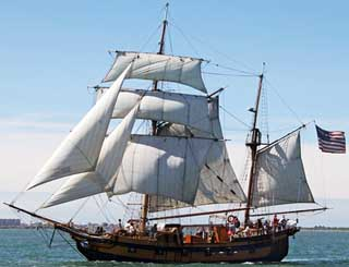 Bodega Bay Hawaiian Chieftain under full sale