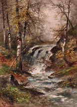 Hugo Anton Fisher Landscape Waterfall Midsized Thumbnail
