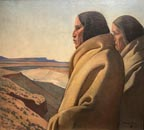 Maynard Dixon Men of the Red Earth