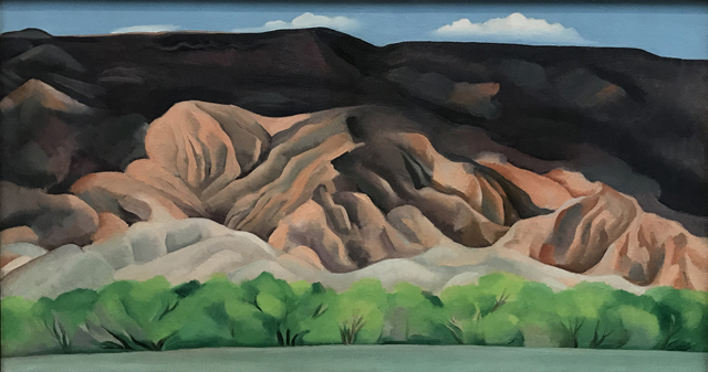 Back of Marie's No 4, 1931, Georgia O'Keeffe