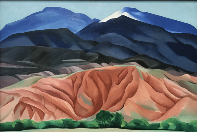 Black Mesa Landscape, New Mexico / Out Back of Marie's II, 1930, Georgia O'Keeffe