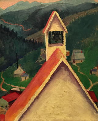Church Bell, Ward, Colorado, 1917 Georgia O'Keeffe