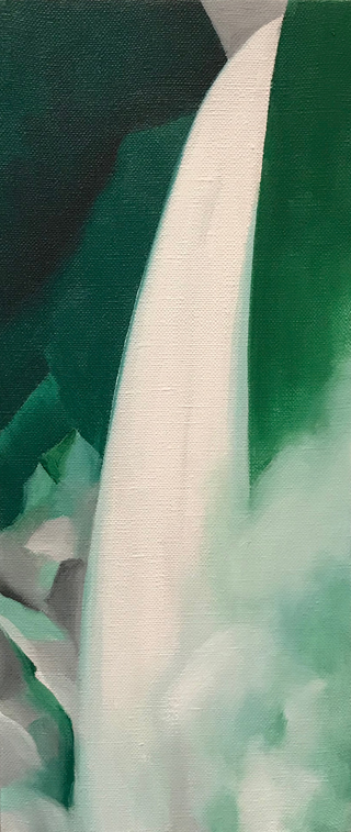Green and White, 1957-58 Georgia O'Keeffe