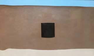 In the Patio II, 1948 On exhibit at the New Mexico Museum of Art (neighbor to Georgia O'Keeffe Museum)