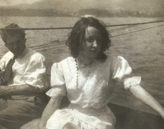 Georgia O'Keeffe at Lake George, 1908 Photographer unknown, Age 21