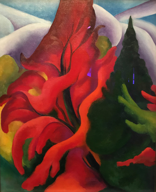 Trees of Autumn, 1921-21 Georgia O'Keeffe