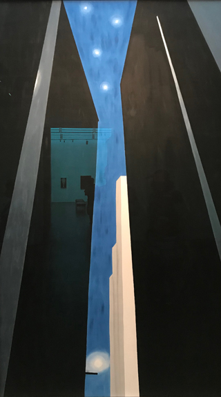 Untitled, (City Night), 1970's Georgia O'Keeffe