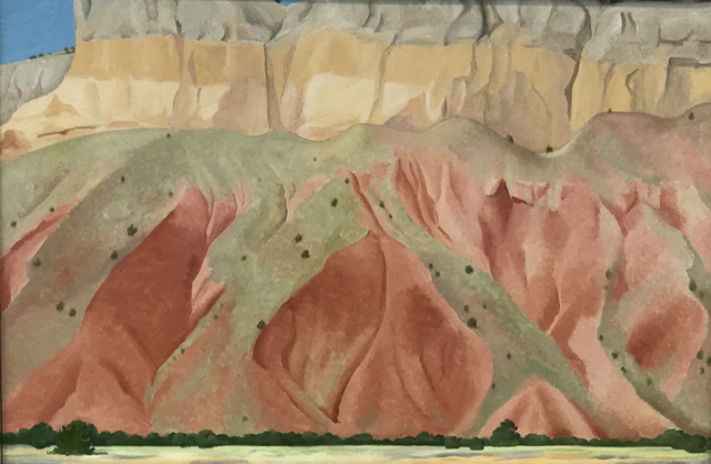 Untitled (Red and Yellow Cliffs), 1940 Georgia O'Keeffe