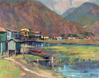 Inlet Oil on canvas, 22 1/2 x 28 Florence Young 1872-1974