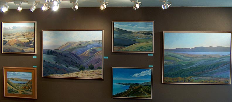 Linda Sorensen Paintings in the current exhibit