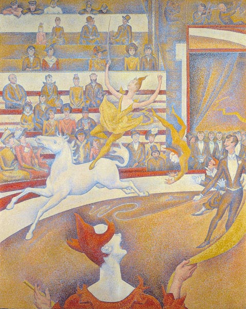 Georges Seurat 1859-1891, The Circus, 1891
