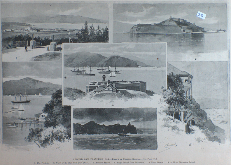Charles Graham Print Around San Francisco Bay