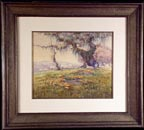 Grace Allison Griffith Grazing Sheep Sonoma 1924 Thumbnail