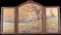 Grace Allison Griffith Meadow Oaks Triptych Midsized Thumbnail