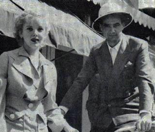 Howard Hughes and Ida Lapino