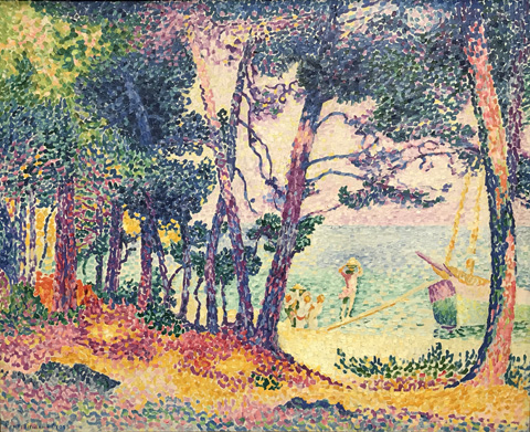 Henri Edmond Cross, Une Pinede (A Pine), 1906 Private Collection
