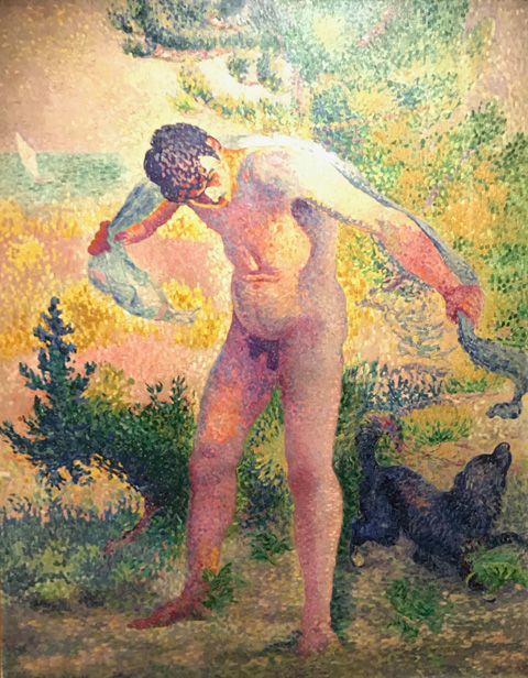 Henri Edmond Cross, After Bathing in Saint Ropez, 1907-08 Association Friends of the patit palais, Geneva, Switzerland