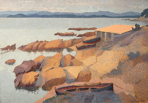Henri Edmond Cross, Antibois Cove, 1891-92 National Gallery of Art, Washington, D.C.