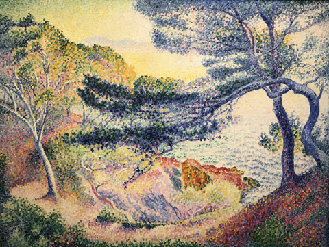 Henri Edmond Cross, Le Cap Layet, 1904 Musee de Grenoble, France