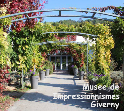 Entrance for the Musee de Impressionnismes Giverny