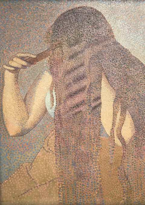 Henri Edmond Cross, The Hair, 1892 Musee d'Orsay, Paris