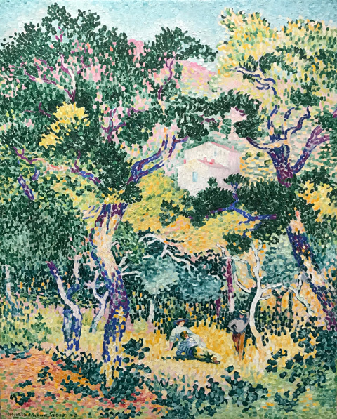Henri Edmond Cross, Under the Oaks, 1908 The Hepama Collection