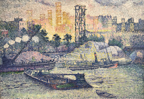 Henri Edmond Cross, Quai de Passy, 1899 Private Collection