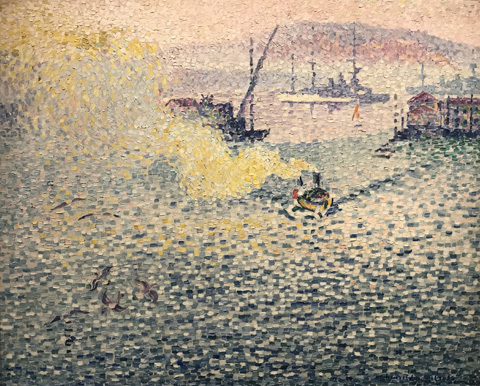 Henri Edmond Cross, Winter Morning, Toulon, France, 1906-07 Private Collection