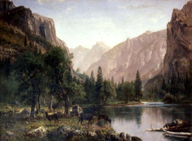 Albert Bierstadt In the Yosemite Haggin Museum Stockton CA
