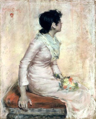 Haggin Museum William Merritt Chase The Artist's Wife