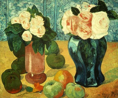 Haggin Museum Paul Gauguin Still Life Flowers and Fruit