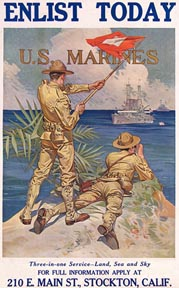 J C Leyendecker Enlistment Poster