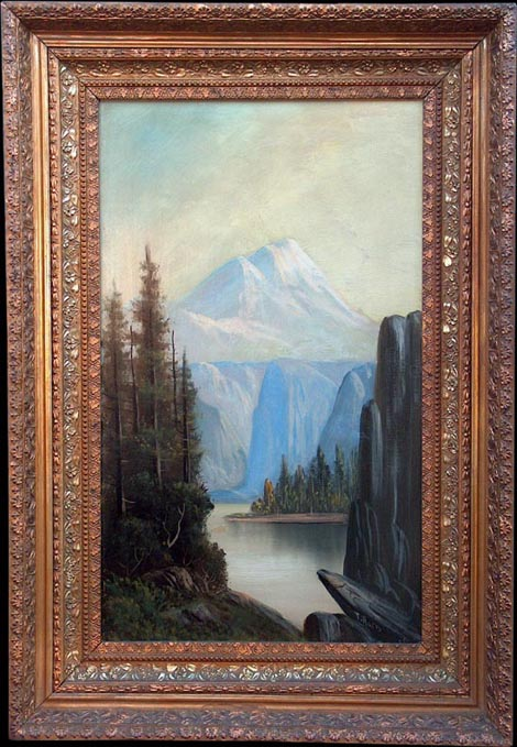 T Haris Mt Shasta with Frame