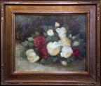 Arthur Harlow Red and Yellow Roses Still Life Thumbnail
