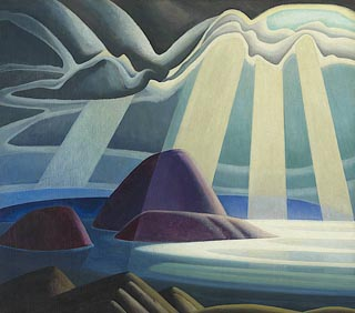 Lawren Harris Lake Superior 1923