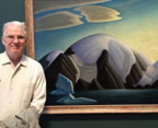 Lawren Harris Painting and Steve Martin