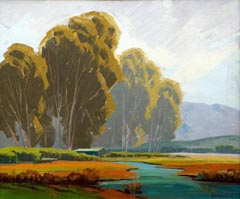 Sam Hyde Harris  Eucalyptus and marsh