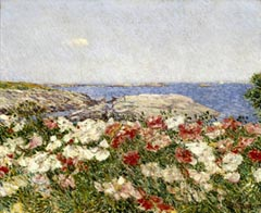 Frederick Childe Hassam Poppies on the Isles of Shoals 1890