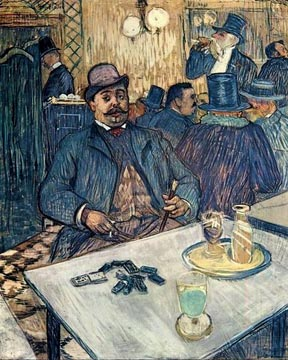 Henri de Toulouse Lautrec Monsieur Boleau in a Cafe