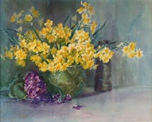 Anna Althea Hills Yellow Daffodils Midsized Thumbnail