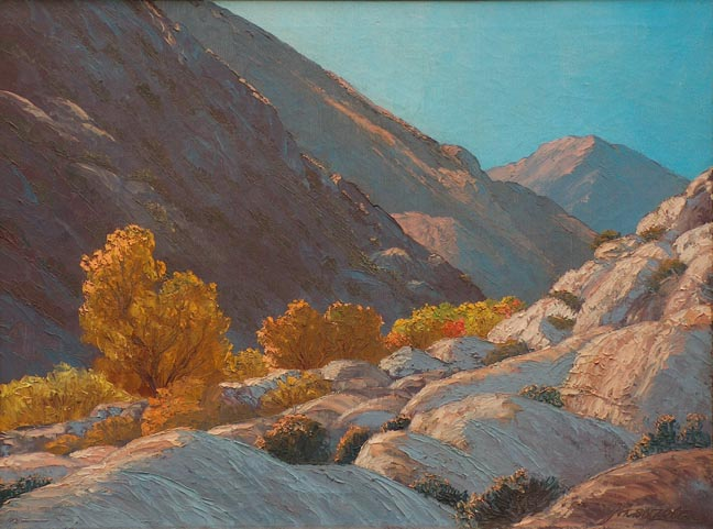 John W Hilton Fall in the Canyon
