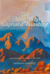 Cover Art The Man Who Captured Sunshine by Katherine Ainsworth painting by John W Hilton