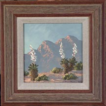 Kathi Hilton Flowering Desert Miniature Midsized Thumbnail