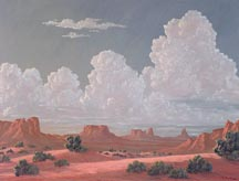 Kathi Hilton Monuments and Clouds Midsized Thumbnail