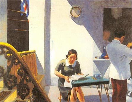 Edward Hopper Barber Shop