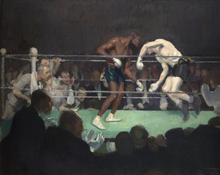 George Luks The Boxing Match Huntington Library