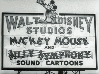 Walt Disney Studios Sign