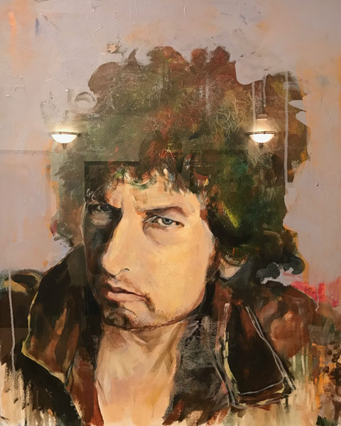 Bob Dylan by Joan Baez
